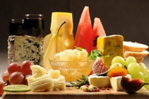 Käseplatte für Genießer.